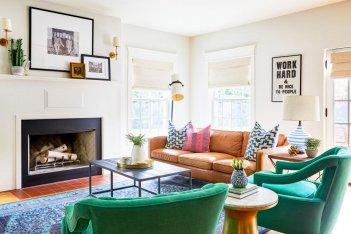 最大化您的色调客厅设计