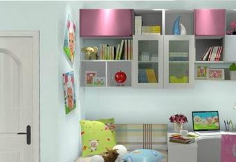 儿童房效果图设计涂料的选择