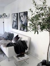 徐州效果图设计,挂画装饰,用黑白灰打